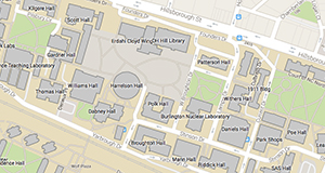 nc state campus map