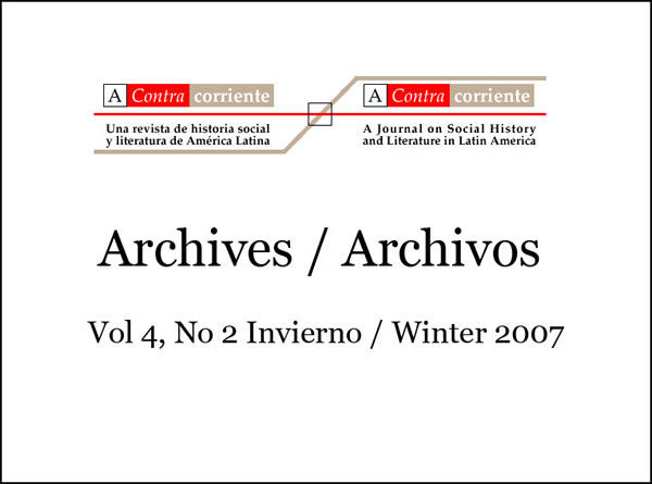 Archives / Archivos Cover