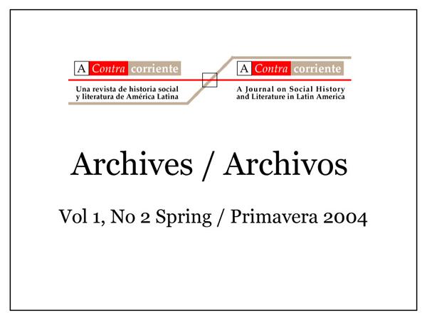 Cubierta Spring / Primavera 2004